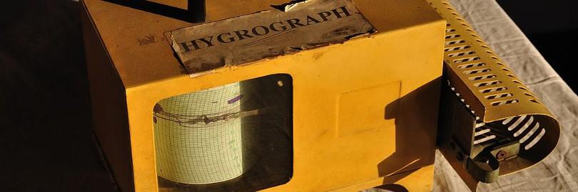 Bild eines Hygrographen